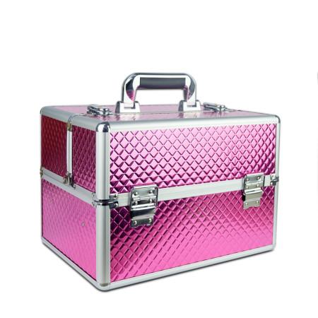 Kozmetický kufrík vzor ružový diamant - NechtovyRAJ.sk