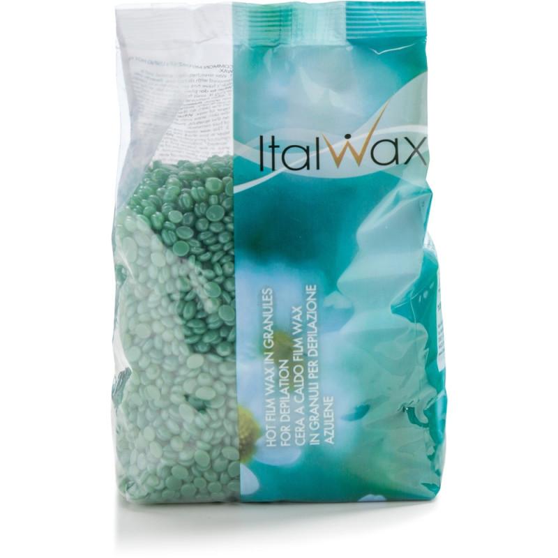 ItalWax filmwax - zrniečka vosku azulén 1 kg NechtovyRAJ.sk - Daj svojim nechtom všetko, čo potrebujú