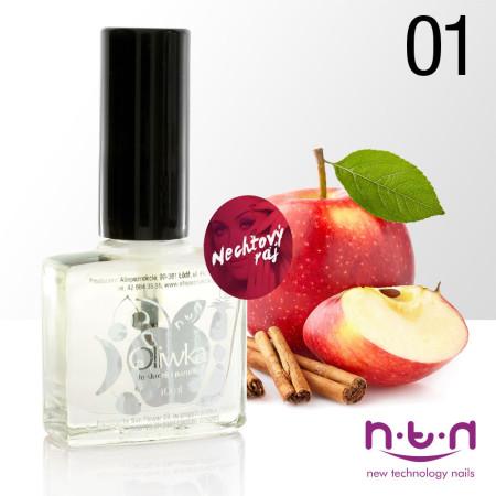 Olejček na nechty vôna jablko-škorica