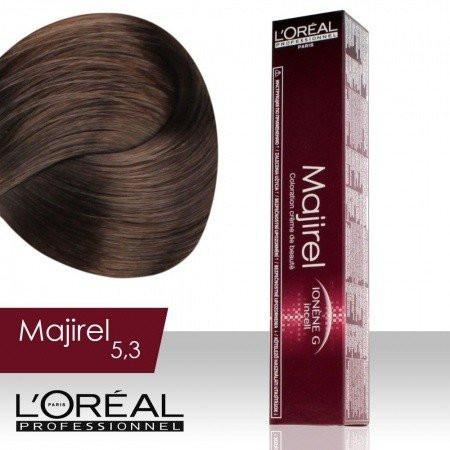 L'Oréal Professionnel Majirel permanentná farba na vlasy 5.3 - NechtovyRAJ.sk
