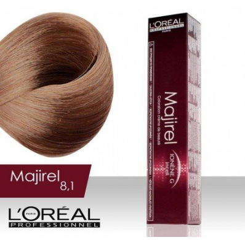 L'Oréal Professionnel Majirel permanentná farba na vlasy 8.1
