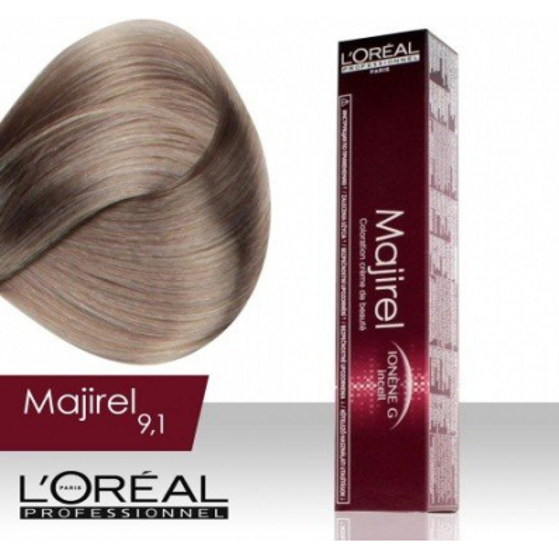 L'Oréal Professionnel Majirel permanentná farba na vlasy 9.1 - NechtovyRAJ.sk