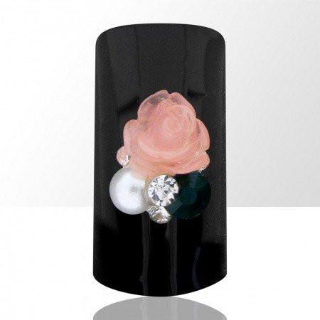 Bijou luxury ozdoba na nechty kvietok ružový 577 NechtovyRAJ.sk - Daj svojim nechtom všetko, čo potrebujú