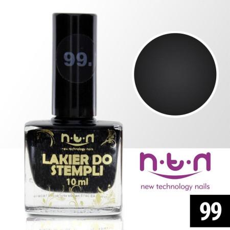 NTN lak na pečiatkovanie čierny 99 NechtovyRAJ.sk - Daj svojim nechtom všetko, čo potrebujú