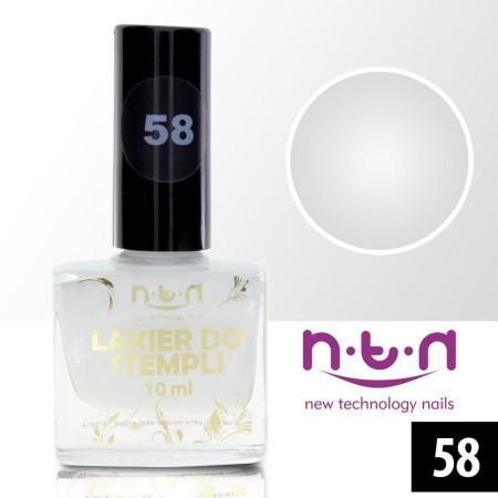 NTN lak na pečiatkovanie biely 58 - 10 ml
