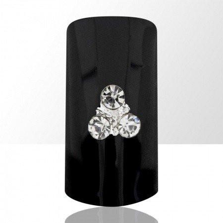 Bijou luxury ozdoba na nechty kamienky 016/525
