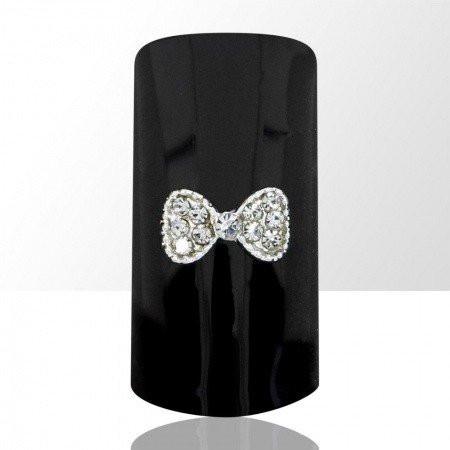 Bijou luxury ozdoba na nechty mašlička C15