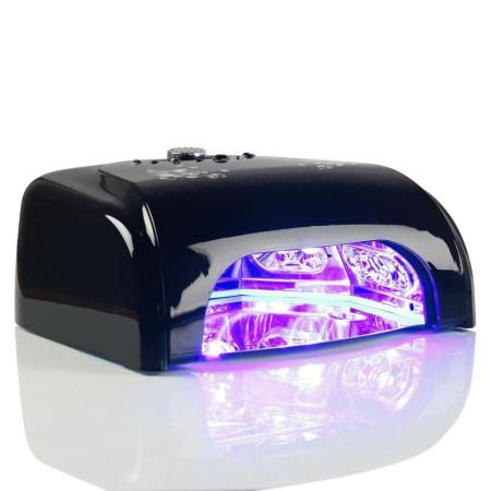 LED LAMPA K1 36 W so sušičkou čierna