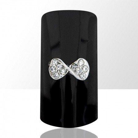 Bijou luxury ozdoba na nechty mašlička C17