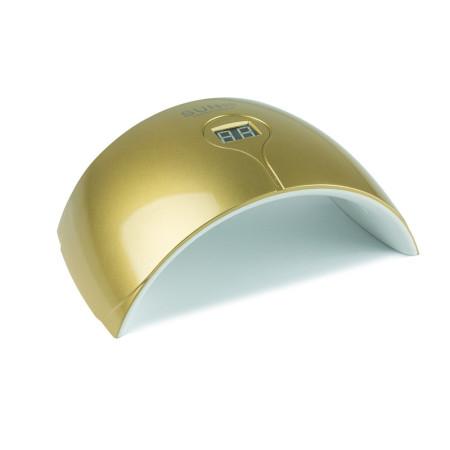 UV LED lampa - S 24 W zlatá so senzorom a displejom