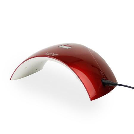 UV LED lampa - S 24 W červená so senzorom a displejom