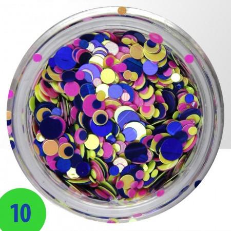 Konfety mix 10 NechtovyRAJ.sk - Daj svojim nechtom všetko, čo potrebujú