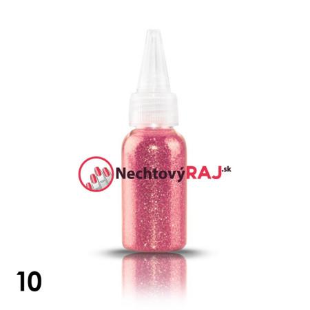 10. Glitrový prášok vo flaštičke s dávkovačom 20 g