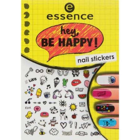 Essence nálepky na nechty hey, be happy 05