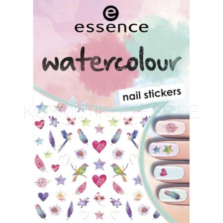 Essence nálepky na nechty watercolour 07
