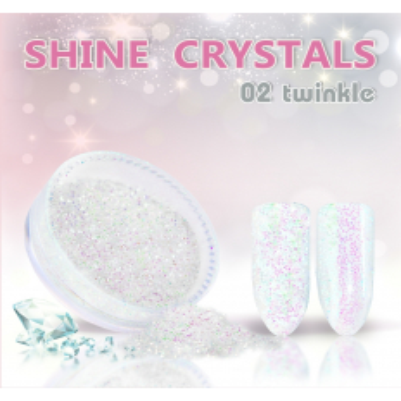 Prášok na nechty Shine crystal effect 02 - NechtovyRAJ.sk
