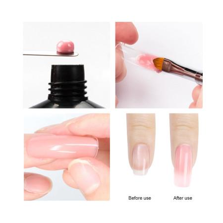 XM nail formy na nechty číre 240 ks - NechtovyRAJ.sk