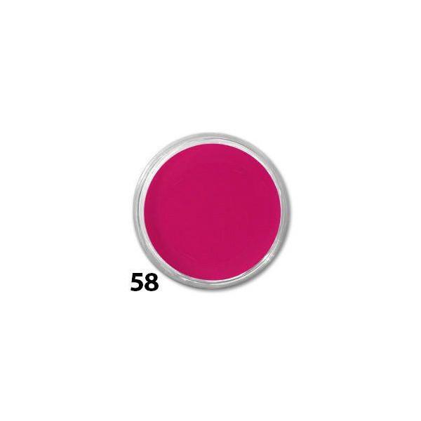 Akrylová farba na nechty č.58 10ml - cyklamenová