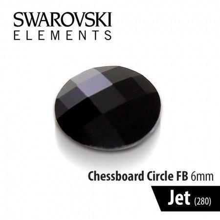 Swarovski kamienok Jet čierny 6 mm NechtovyRAJ.sk - Daj svojim nechtom všetko, čo potrebujú