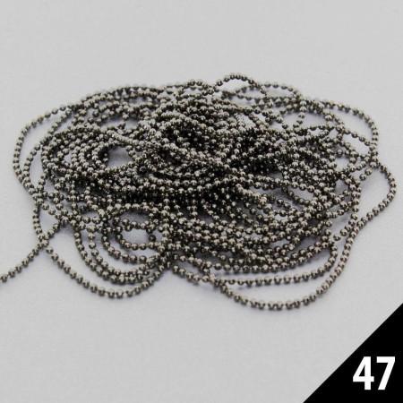 Retiazka na zdobenie 47 metalická NechtovyRAJ.sk - Daj svojim nechtom všetko, čo potrebujú