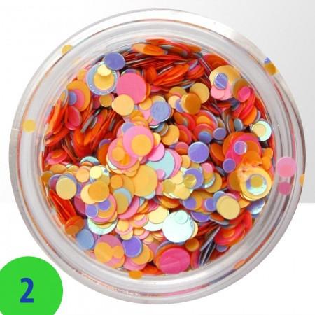 Konfety na nechty mix 2 NechtovyRAJ.sk - Daj svojim nechtom všetko, čo potrebujú