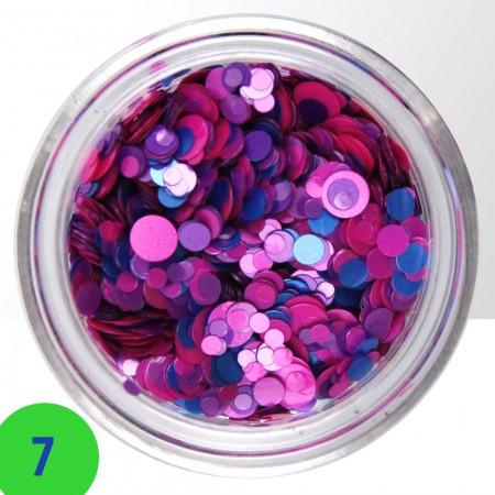 Konfety na nechty mix 7 NechtovyRAJ.sk - Daj svojim nechtom všetko, čo potrebujú