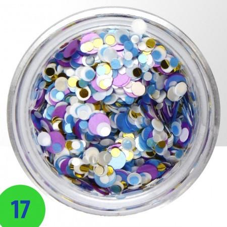 Konfety na nechty mix 17 NechtovyRAJ.sk - Daj svojim nechtom všetko, čo potrebujú