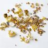 Ozdoby na nechty mix 03 - zlaté NechtovyRAJ.sk - Daj svojim nechtom všetko, čo potrebujú