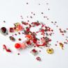 Ozdoby na nechty mix 05 - červené NechtovyRAJ.sk - Daj svojim nechtom všetko, čo potrebujú