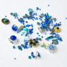Ozdoby na nechty mix 07 - modré NechtovyRAJ.sk - Daj svojim nechtom všetko, čo potrebujú