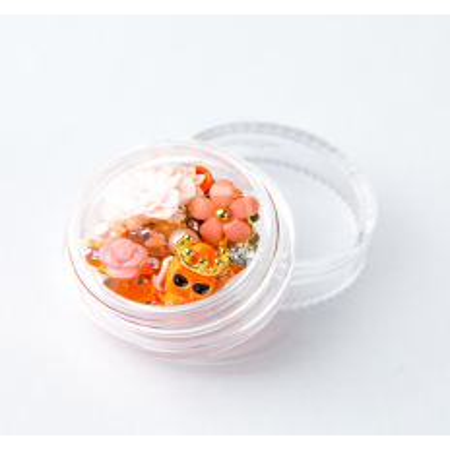 Ozdoby na nechty mix 09 - oranžové