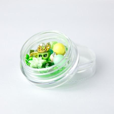 Ozdoby na nechty mix 11 - neón zelené NechtovyRAJ.sk - Daj svojim nechtom všetko, čo potrebujú