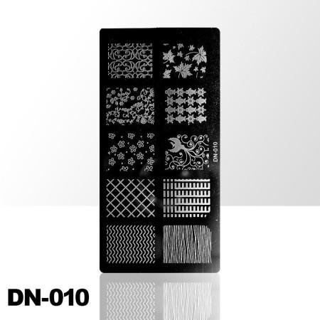 Doštička na pečiatkovanie DN010 NechtovyRAJ.sk - Daj svojim nechtom všetko, čo potrebujú