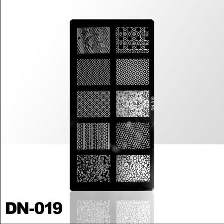 Doštička na pečiatkovanie DN019 NechtovyRAJ.sk - Daj svojim nechtom všetko, čo potrebujú