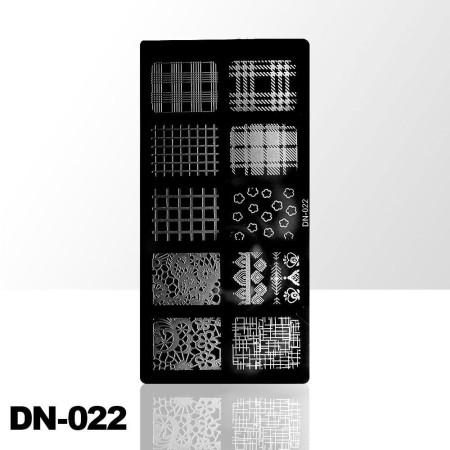 Doštička na pečiatkovanie DN022 NechtovyRAJ.sk - Daj svojim nechtom všetko, čo potrebujú