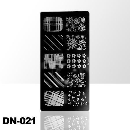 Doštička na pečiatkovanie DN021 NechtovyRAJ.sk - Daj svojim nechtom všetko, čo potrebujú