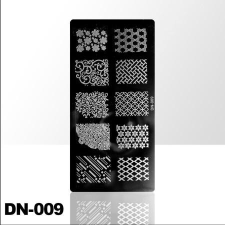 Doštička na pečiatkovanie DN009 NechtovyRAJ.sk - Daj svojim nechtom všetko, čo potrebujú
