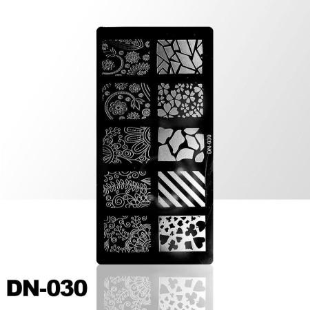 Doštička na pečiatkovanie DN030 NechtovyRAJ.sk - Daj svojim nechtom všetko, čo potrebujú