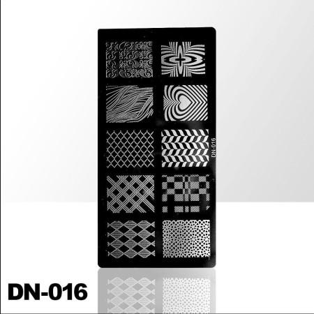 Doštička na pečiatkovanie DN016 NechtovyRAJ.sk - Daj svojim nechtom všetko, čo potrebujú