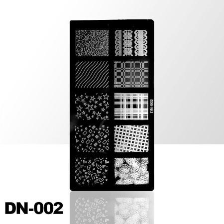 Doštička na pečiatkovanie DN002 NechtovyRAJ.sk - Daj svojim nechtom všetko, čo potrebujú