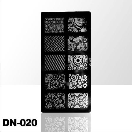 Doštička na pečiatkovanie DN020 NechtovyRAJ.sk - Daj svojim nechtom všetko, čo potrebujú