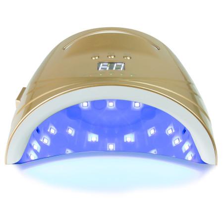 UV/LED lampa TP96 48 W zlatá - na batérie - NechtovyRAJ.sk