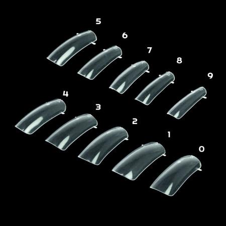 Bluesky formy na nechty číre 12 ks NechtovyRAJ.sk - Daj svojim nechtom všetko, čo potrebujú