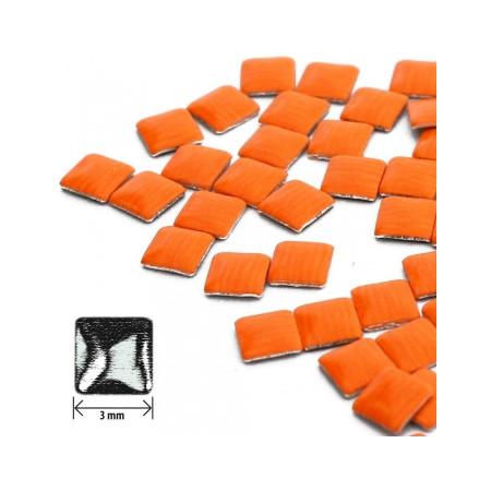 Ozdoby na nechty štvorec - neón orange NechtovyRAJ.sk - Daj svojim nechtom všetko, čo potrebujú
