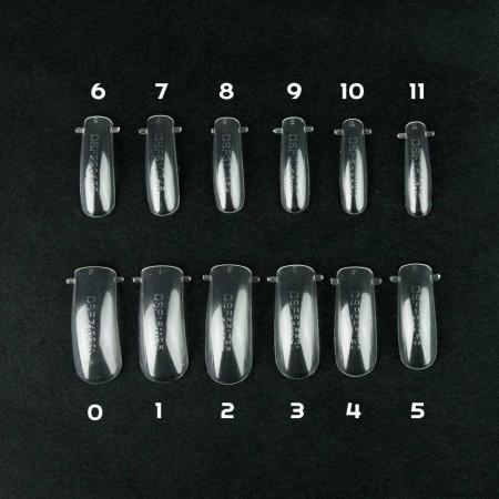 Bluesky Dual formy na nechty číre 120 ks NechtovyRAJ.sk - Daj svojim nechtom všetko, čo potrebujú