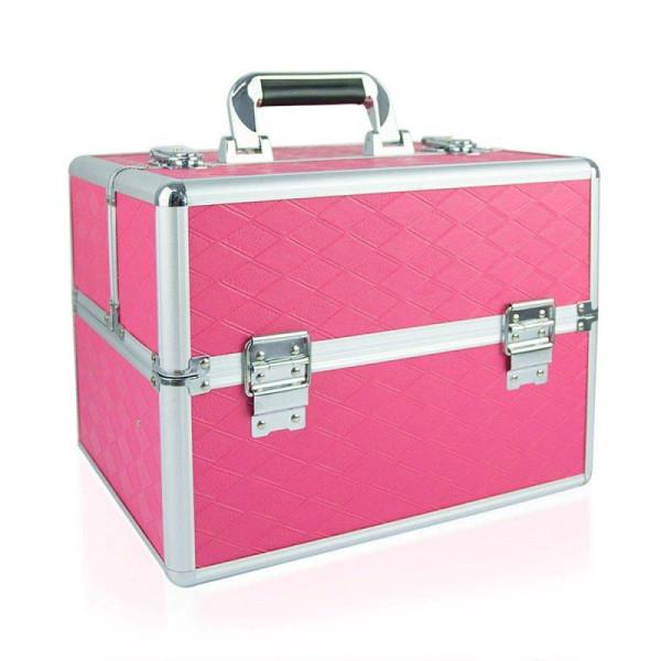 Kozmetický kufrík ružový N09 - NechtovyRAJ.sk