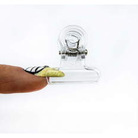 """Svorka na """"pinčovanie"""" - plastová 2,1 cm - NechtovyRAJ.sk"""