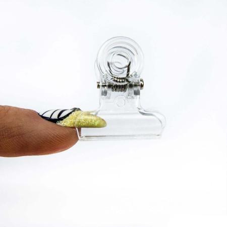 """Svorka na """"pinčovanie"""" - plastová 2,1 cm"""