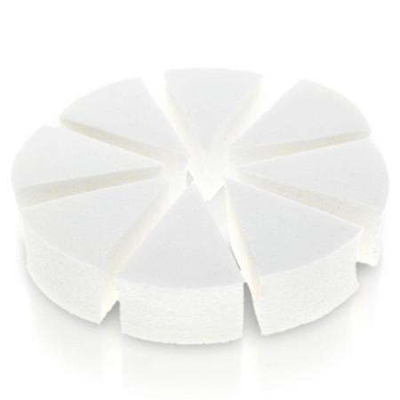 Kozmetické hubky 8 ks na ombré a make up biele NechtovyRAJ.sk - Daj svojim nechtom všetko, čo potrebujú