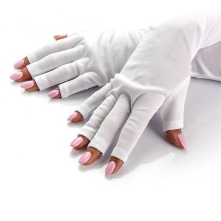 Ochranné rukavice do uv lampy biele NechtovyRAJ.sk - Daj svojim nechtom všetko, čo potrebujú